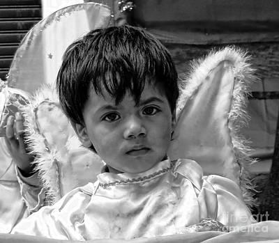 Art Print featuring the photograph Cuenca Kids 893 by Al Bourassa