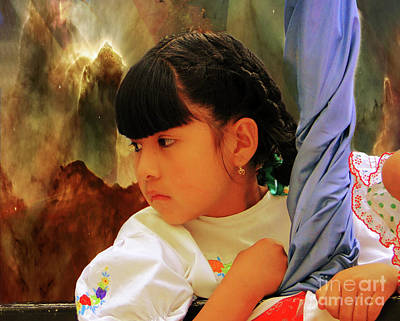 Photograph - Cuenca Kids 913 by Al Bourassa