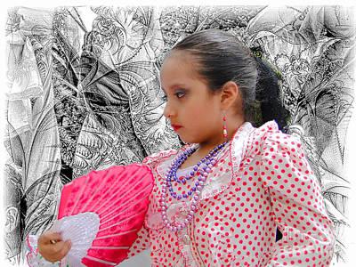 Photograph - Cuenca Kids 914 by Al Bourassa