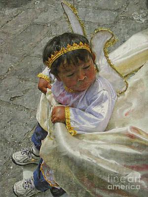 Photograph - Cuenca Kids 915 by Al Bourassa