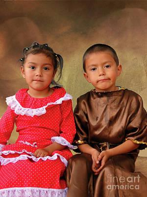 Photograph - Cuenca Kids 916 by Al Bourassa