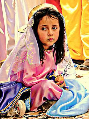 Photograph - Cuenca Kids 923 by Al Bourassa