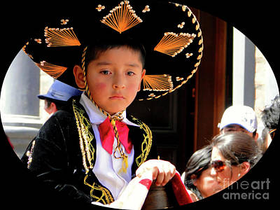 Photograph - Cuenca Kids 955 by Al Bourassa