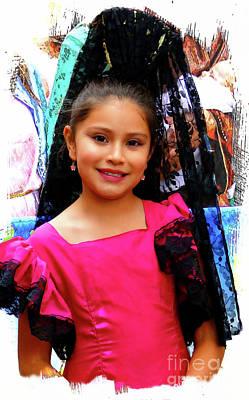 Photograph - Cuenca Kids 977 by Al Bourassa