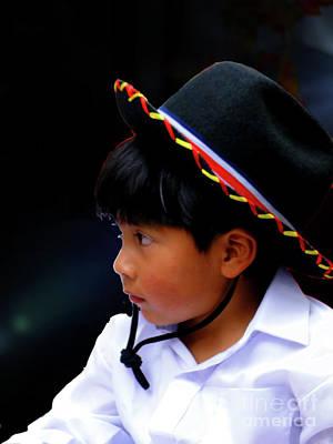 Photograph - Cuenca Kids 981 by Al Bourassa