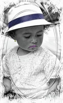Photograph - Cuenca Kids 984 by Al Bourassa