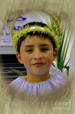 Photograph - Cuenca Kids 985 by Al Bourassa