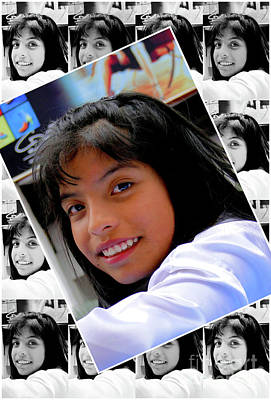 Photograph - Cuenca Kids 986 by Al Bourassa