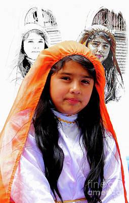 Photograph - Cuenca Kids 989 by Al Bourassa