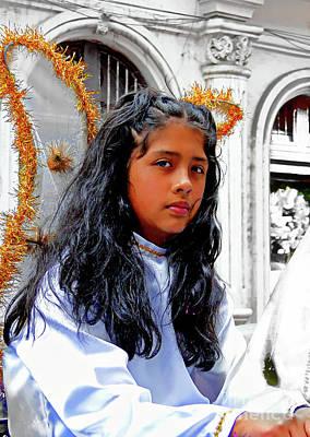 Photograph - Cuenca Kids 990 by Al Bourassa