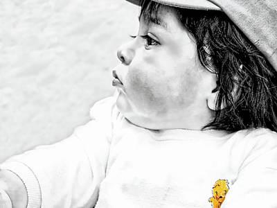 Photograph - Cuenca Kids 997 by Al Bourassa