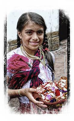 Photograph - Cuenca Kids 999 by Al Bourassa