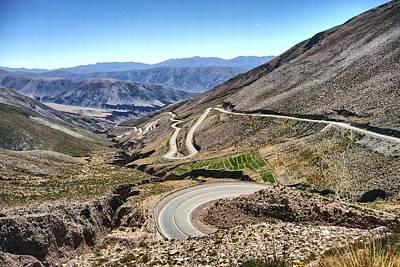 Photograph - Cuesta De Lipan Jujuy Argentina by NaturesPix