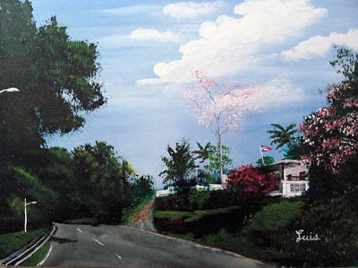 Painting - Cuesta Vieja by Luis F Rodriguez