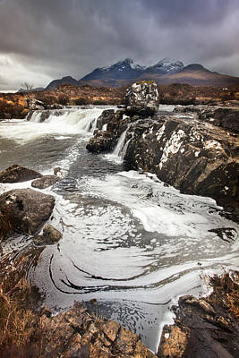 Photograph - Cuillin Hills 1 by Dominick Moloney