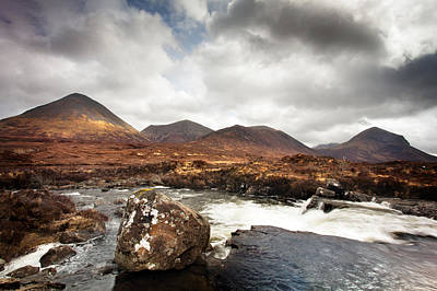 Photograph - Cuillin Hills 2 by Dominick Moloney