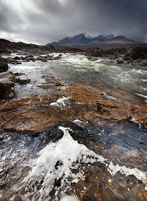 Photograph - Cuillin Hills 3 by Dominick Moloney