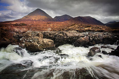 Photograph - Cuillin Hills by Dominick Moloney