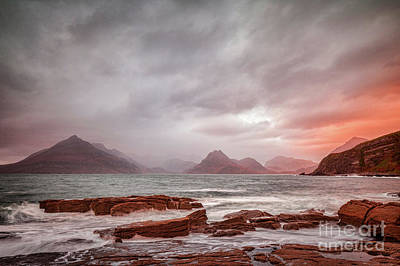 Elgol Photograph - Cuillins From Elgol by Colin and Linda McKie