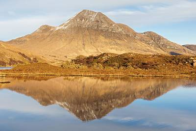 Photograph - Cul Beag  by Stephen Taylor
