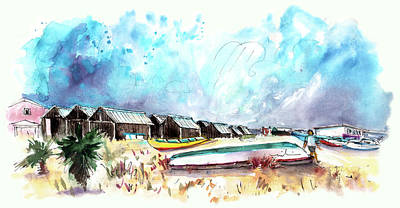 Painting - Culatra Island 07 by Miki De Goodaboom