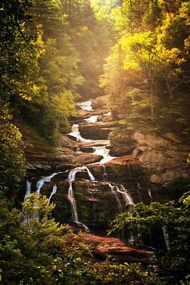 Photograph - Cullasaja Falls by Susan Rissi Tregoning