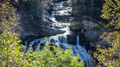 Photograph - Cullasaja Falls by Walt  Baker
