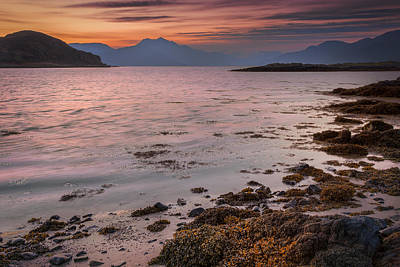 Photograph - Cuillin From Elgol Isle Of Skye by Alex Saunders