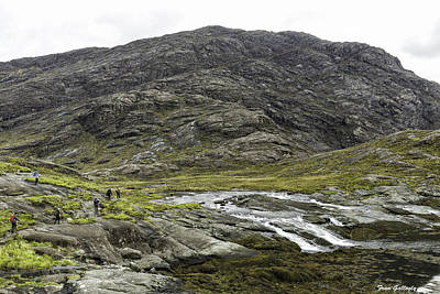 Photograph - Cullin Mountain Hikers by Fran Gallogly
