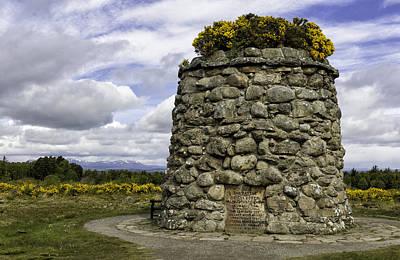 Photograph - Culloden Battlefield Cairn by Fran Gallogly