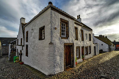 Photograph - Culross Village In Fife by Jeremy Lavender Photography