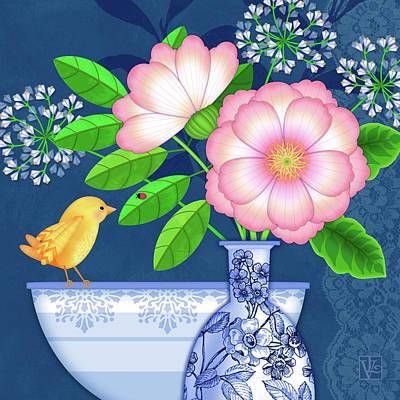 Digital Art - Cultivate Kindness by Valerie Drake Lesiak