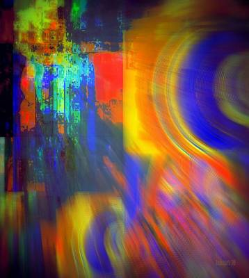 Cultural Exchange And Movement Art Print by Fania Simon