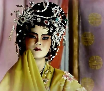 Photograph - Culture Fashion Of China by Ian Gledhill