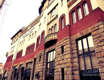 Photograph - Culture Palace 1 by Erika H