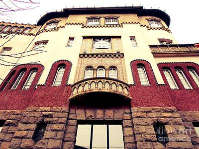 Photograph - Culture Palace 2 by Erika H