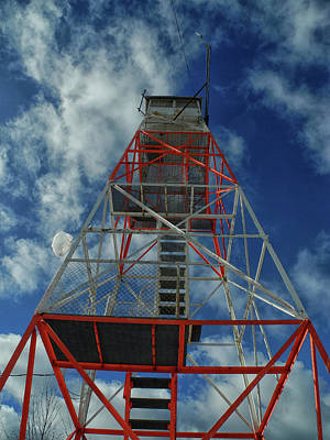Photograph - Culver Fire Tower by Raymond Salani III