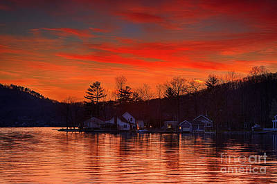 Photograph - Culver Lake's Sunset by Nicki McManus