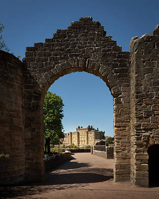 Photograph - Culzean Castle Entrance by Alex Saunders
