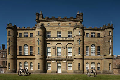 Photograph - Culzean Castle Front by Alex Saunders