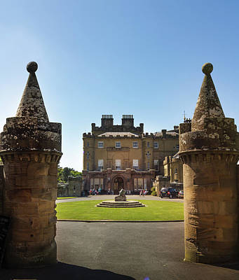 Photograph - Culzean Castle Scottish Landscapes And Castles by Alex Saunders
