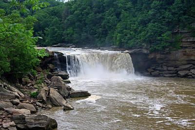 Photograph - Cumberland Falls In Kentucky by Jill Lang