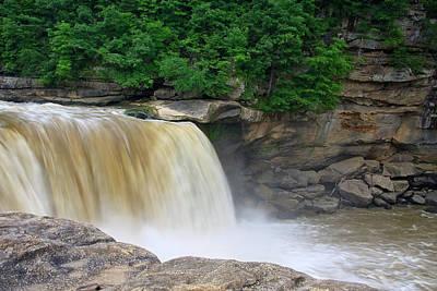 Photograph - Cumberland Falls In Ky by Jill Lang