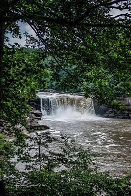 Photograph - Cumberland Falls by Joann Copeland-Paul