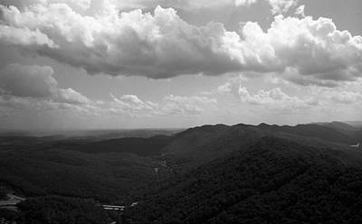 Photograph - Cumberland Gap - Kentucky Bw by Frank Romeo