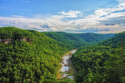 Photograph - Cumberland Gorge by Barry Fowler