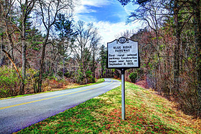Photograph - Cumberland Knob by Dale R Carlson