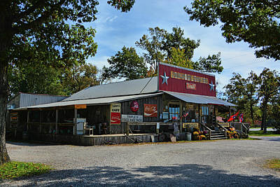 Photograph - Cumberland Mountain General Store by Ben Prepelka