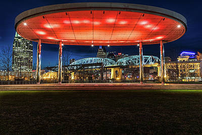 Photograph - Cumberland Park Night by Josh Bryant