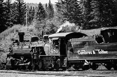 Photograph - Cumbres And Toltec Narrow Gauge by Debra Martz